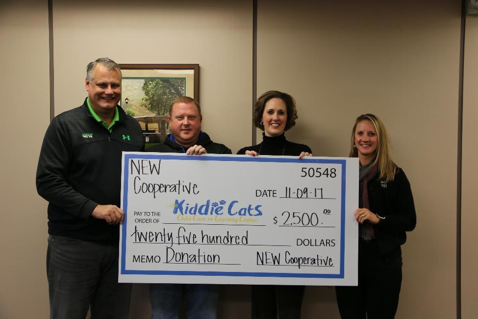 Humboldt Kiddie Cats Childcare Center Donation